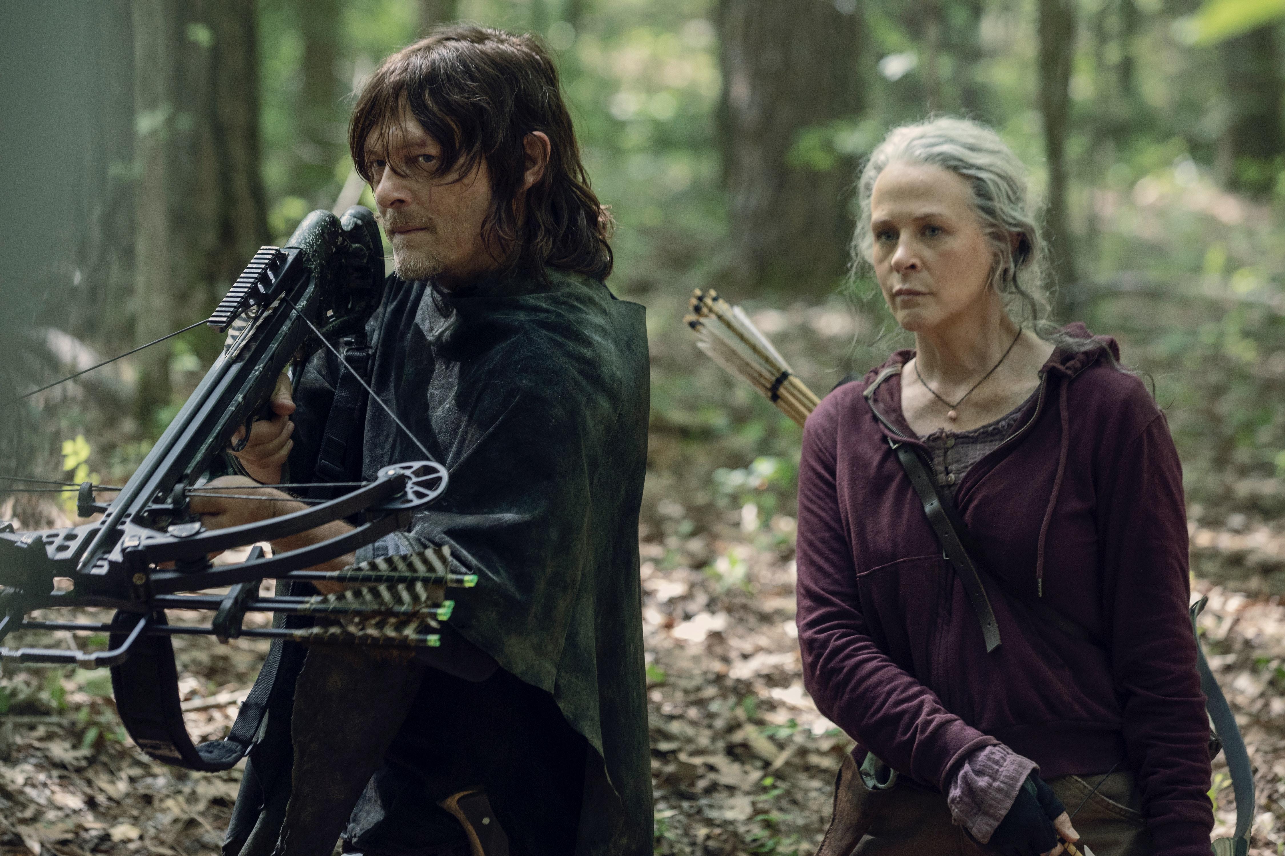 Er Carol og Daryl dating