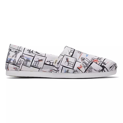 Star Wars AT-AT Print Alpargata Sneakers for Women by TOMS