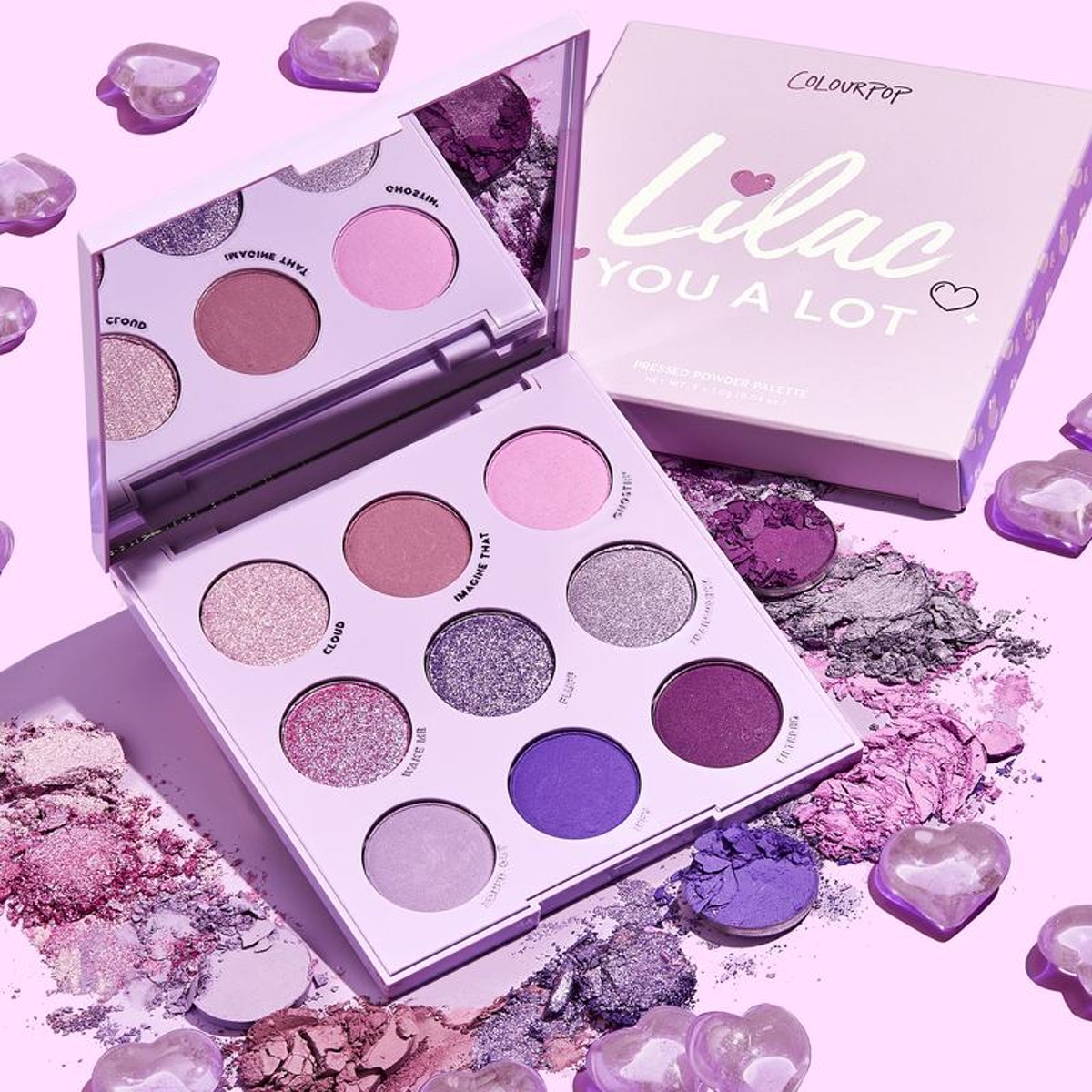 Lilac You A Lot Shadow Palette