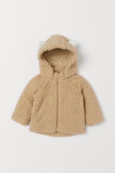 Hooded Pile Jacket