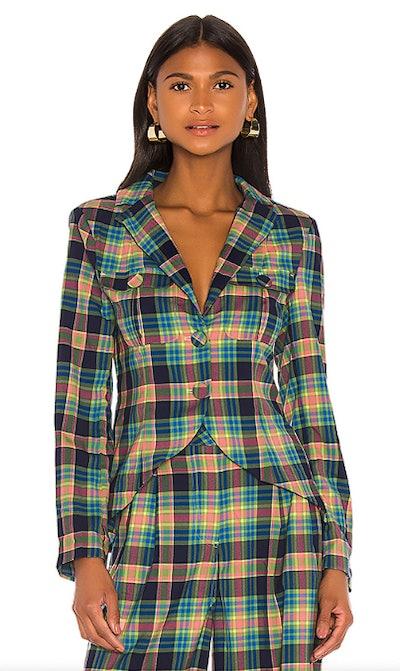 Loren Plaid Jacket