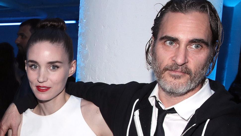 Joaquin Phoenix and Rooney Mara's relationship timeline is low-key.