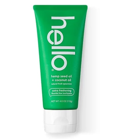 Hemp Seed Oil + Coconut Oil Extra Freshening Fluoride Free Toothpaste