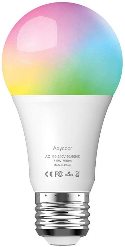Aoycocr Smart LED Color Changing Light Bulb