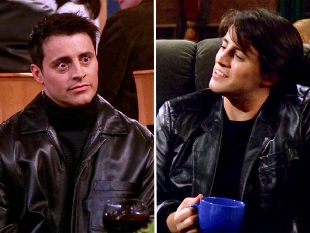 Joey Tribbiani was known for his leather jacket which will make a great Friends-themed Halloween costume