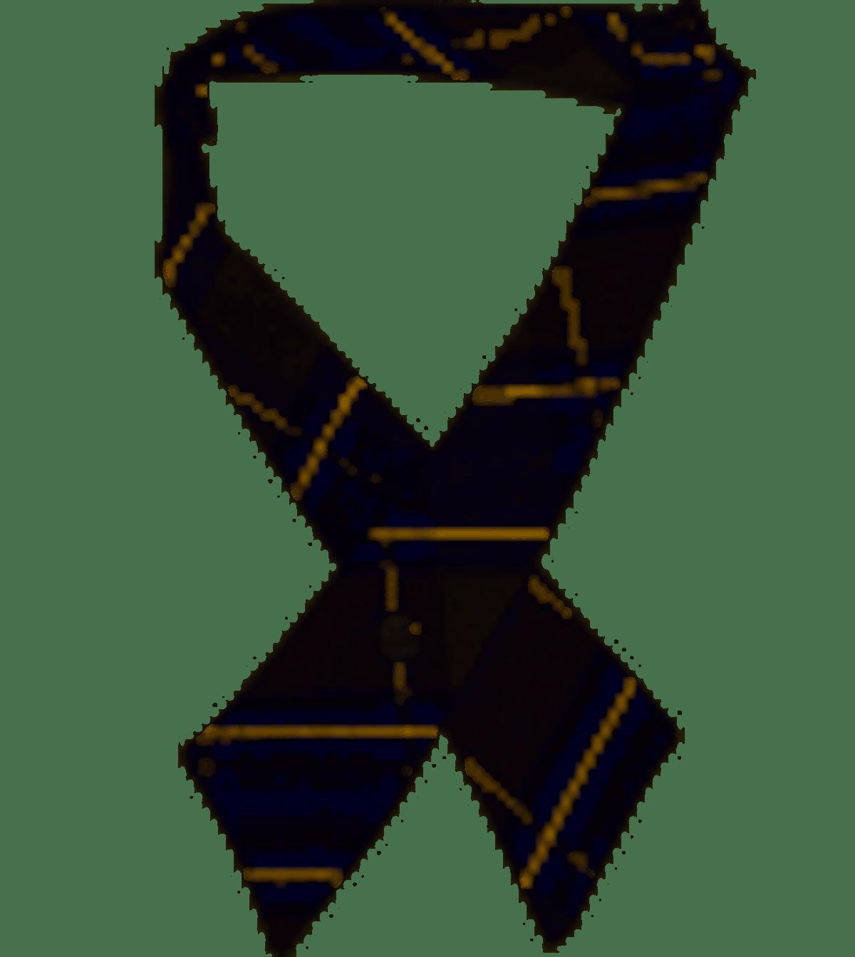 Cookie's Brand Crisscross Neck Tie