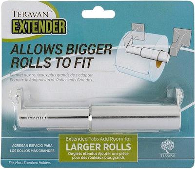 Teravan Extender for Toilet Paper Rolls