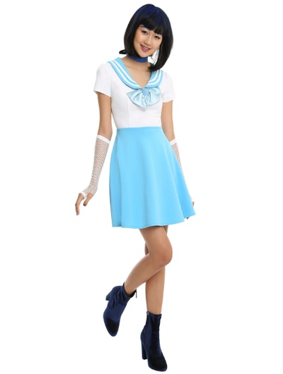 Sailor Moon Sailor Mercury Cosplay Dress