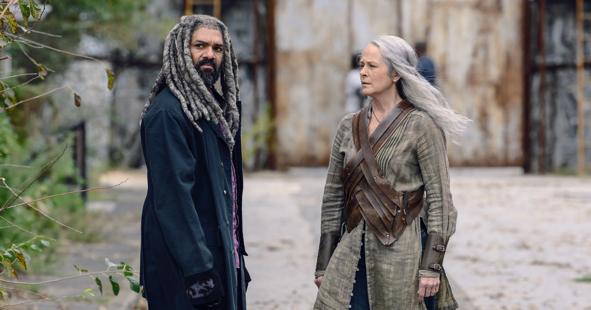 Carol & Ezekiel's Relationship On The 'The Walking Dead' Is Officially Over