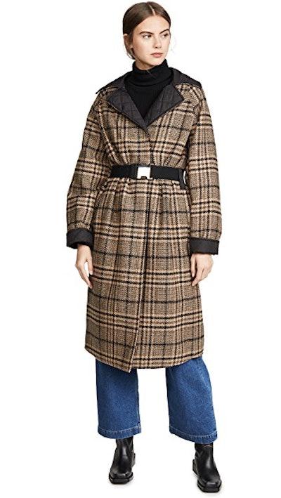 Tech/Wool Reversible Coat