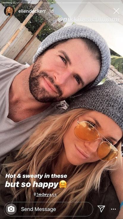 Jed Wyatt and Ellen Decker together in Miami