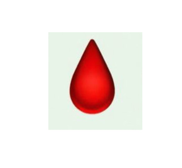 blood drop emoji