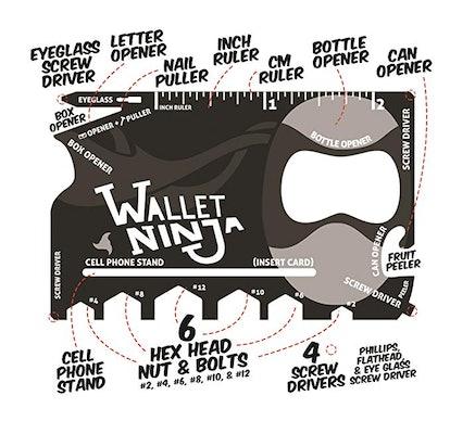 Wallet Ninja- 18 in 1  Multitool