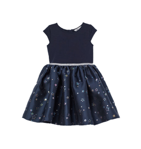 Dress with Flared Skirt