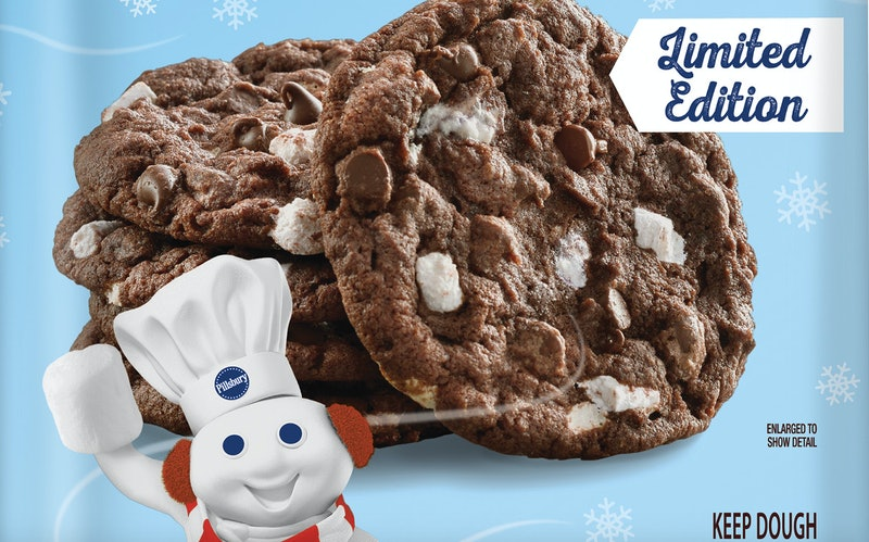Hot Cocoa cookie dough is back on shelves.