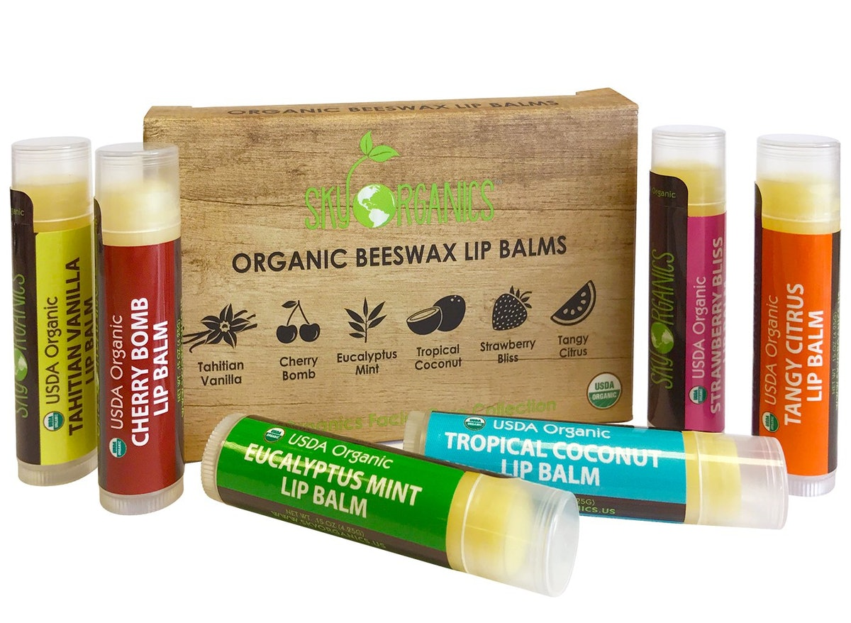 USDA Organic Lip Balm By Sky Organics