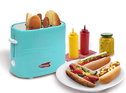 Americana ECT-542BL Hot Dog Toaster Cooker Machine