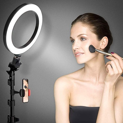 """8"""" Selfie Ring Light with Tripod Stand & Cell Phone Holder"""