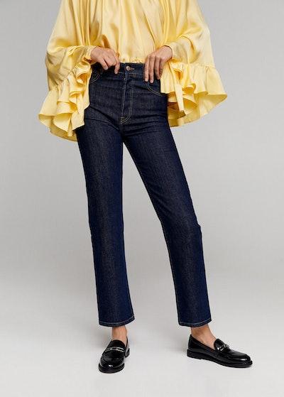 Leandra Medine x Mango Straight Fit Jeans
