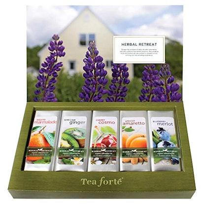 Tea Forte Single Steeps Herbal  Organic Tea