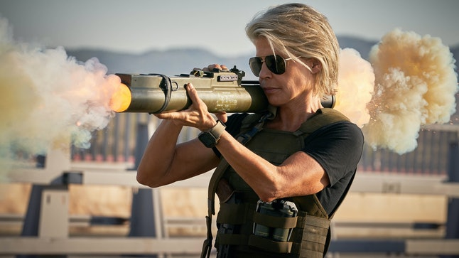 Linda Hamilton as Sarah Connor in Terminator: Dark Fate