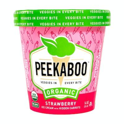 Organic Strawberry With Hidden Carrot Ice Cream