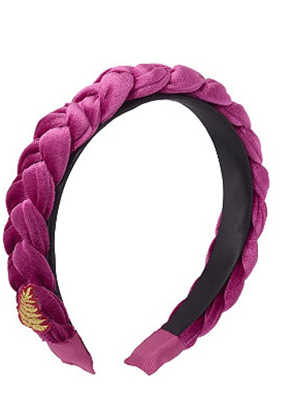 Scünci  Disney Frozen II Braided Velvet Headband