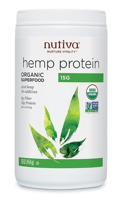Nutiva hemp protein powder