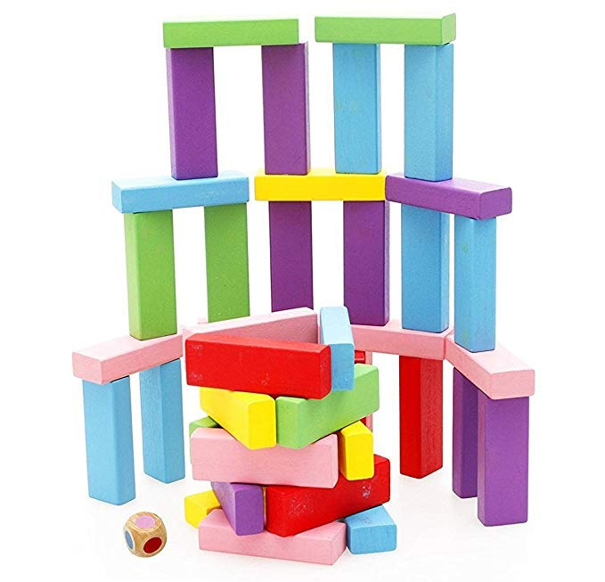 Lewo Wooden Stacking Board Games