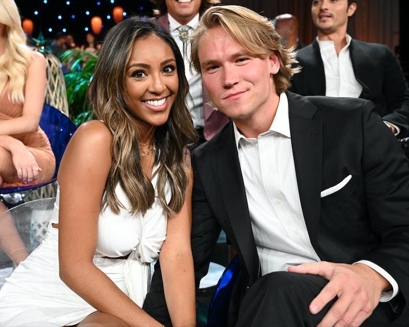 Bachelor in Paradise couple Tayshia Adams and John Paul Jones announced their breakup.