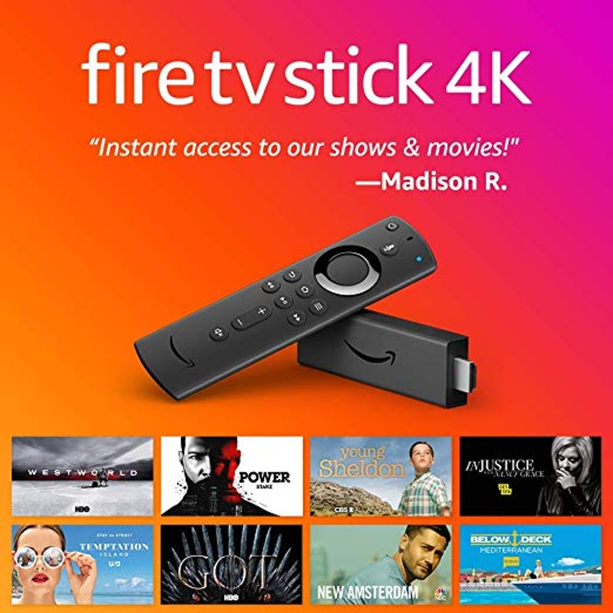 Amazon Fire TV streaming stick