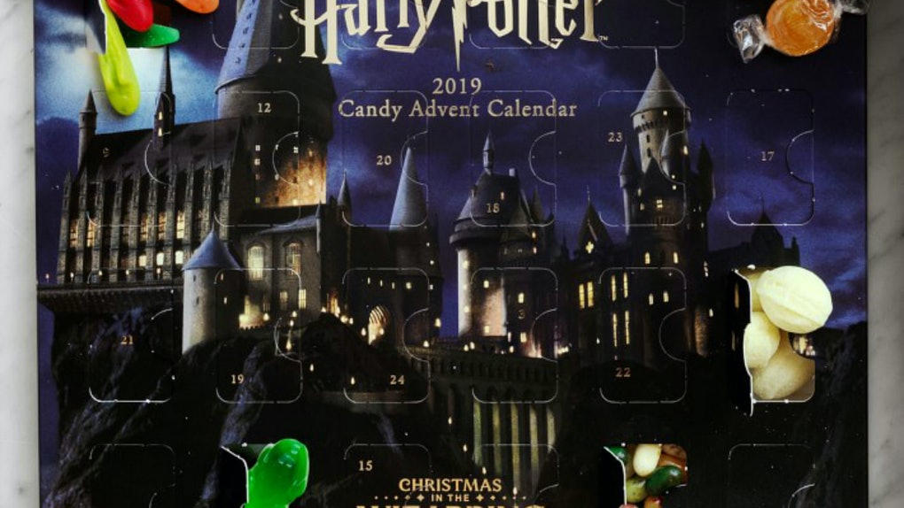 This Harry Potter Advent Calendar from Williams Sonoma is the ultimate potter fan's candy treat for the holidays.