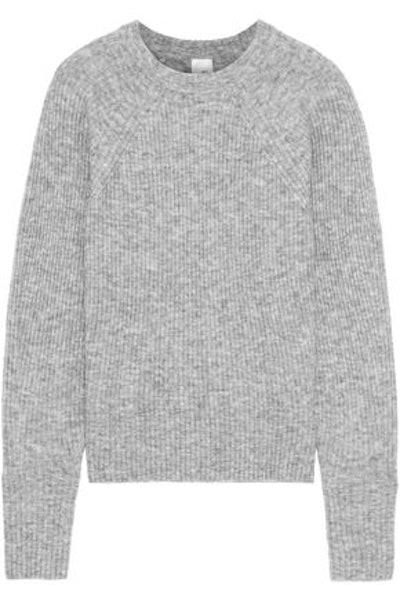 Ola Marled Ribbed-Knit Sweater