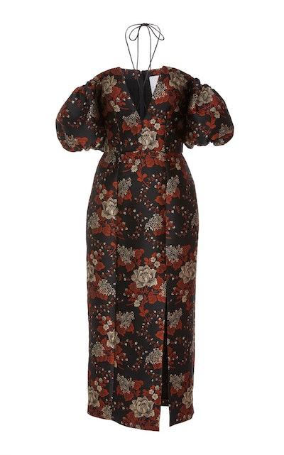 Turner Floral Brocade Dress