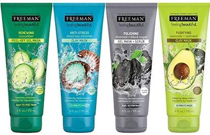 Freeman Facial Mask Variety Set (4 Pack)