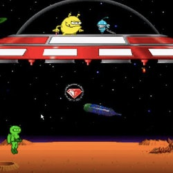 Math Blaster is among the many educational computer games that made learning fun for '80s and '90s kids.