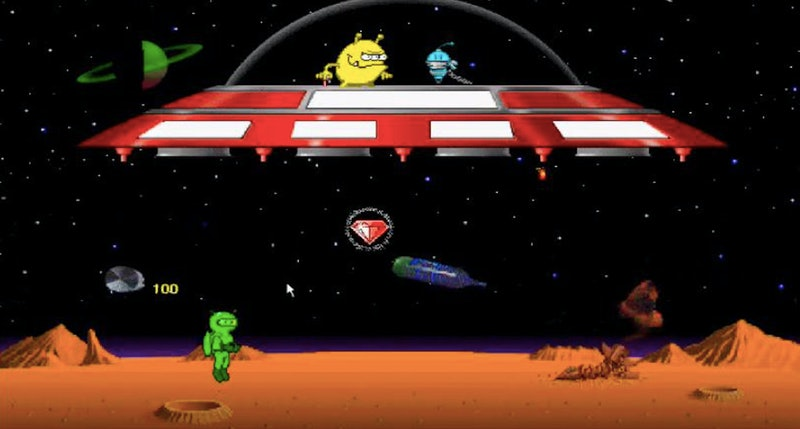 Math Blaster is among the many educational computer games that made learning fun for '80s and '90s k...