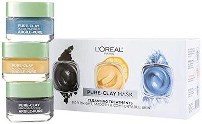 L'Oreal Paris Clay Face Mask Set