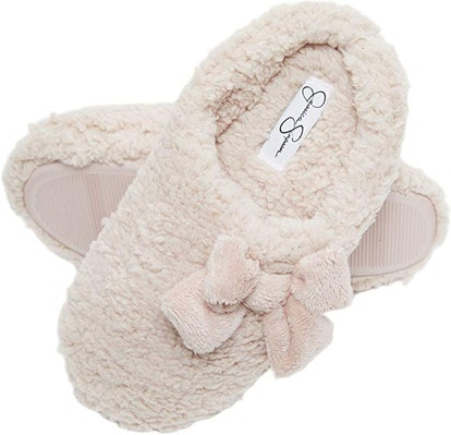 Jessica Simpson Women's Plush Marshmallow Slide-On House Slipper