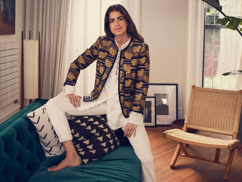 The Leandra Medine x Mango Collection is available now on the Mango website