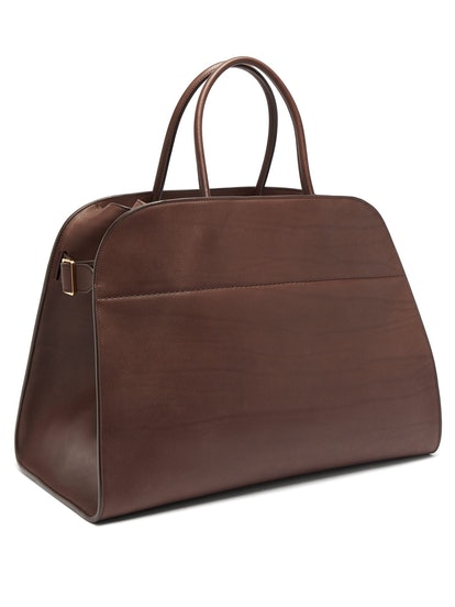 Margaux 17 Large Leather Tote Bag