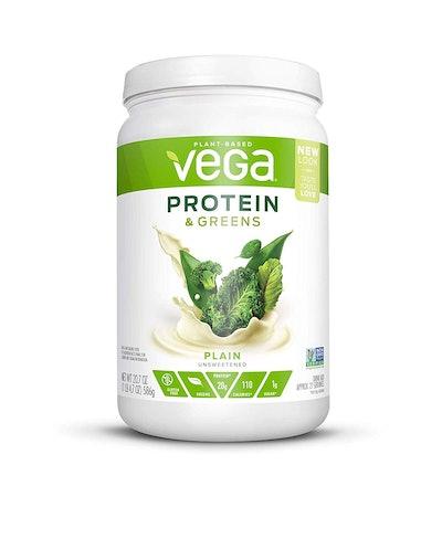 Vega Protein & Greens Plain Protein Powder