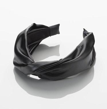 Scünci Faux Leather Headband