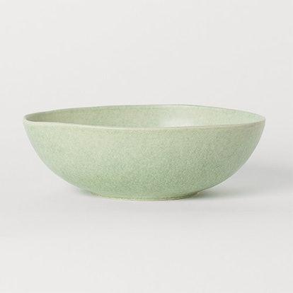 Large Stoneware Serving Bowl