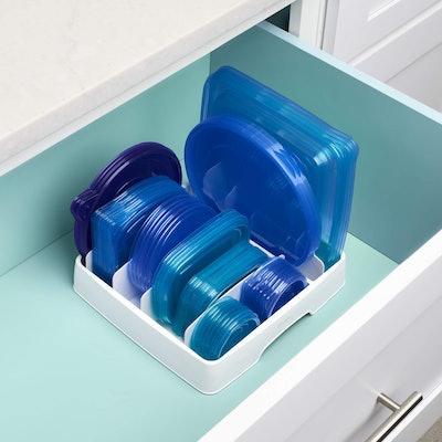YouCopia StoraLid Food Container Lid Organizer, Medium