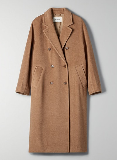 Slouch Camel Wool Coat
