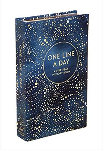 Celestial One Line a Day Journal