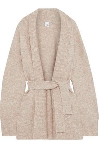 Katla Belted Brushed-Knitted Cardigan