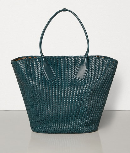Large Basket Tote in Intreccio Rete