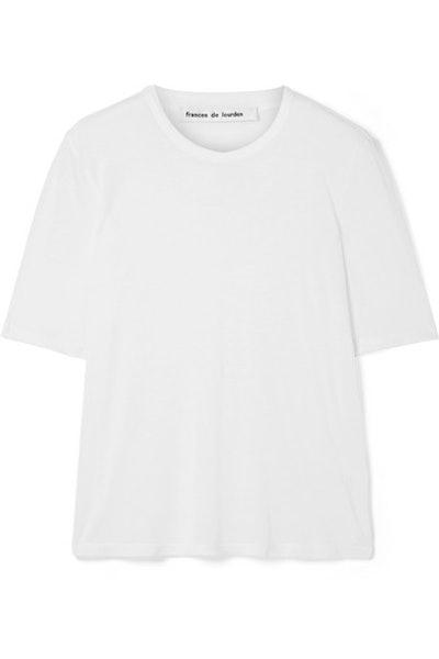 Martin Slub Modal And Silk-Blend T-Shirt